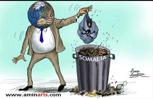 Somalia is world's free zone dumping. Why should there be a government for the Western nations looking for free dumping zone?