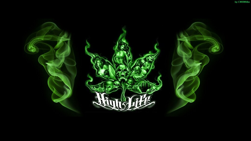 marijuana high life custom