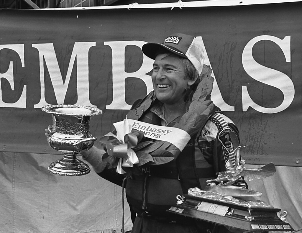 GG PB1 091 1982 Power Boat Billy Seebold always a winner