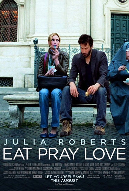 Image result for eat pray love movie poster