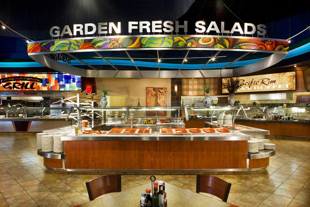 Salad Bar  Casino Design  Casino Buffet  Buffet Dcor D