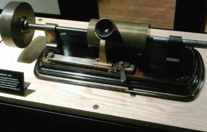Edison's improved phonograph