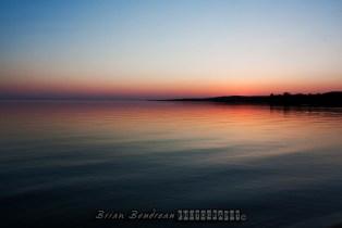 Sundown on Nipissing