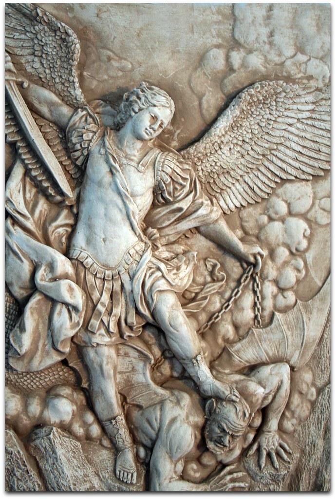 St Michael the Archangel portrait  Patron Saint of