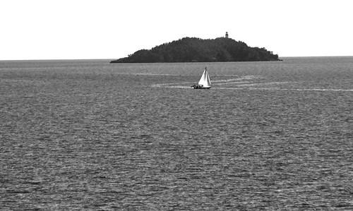 Heading to Thunder Bay, Silver Islet Lighthouse