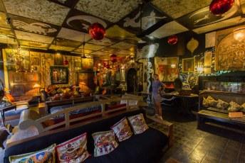 we bezochten ook nog even Helga's Folly, een bizar ingericht hotel waar de Stereophonics nog een nummer over hebben geschreven