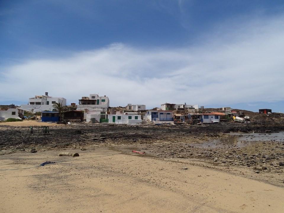 Majanicho pueblo y playa Isla de Fuerteventura 095