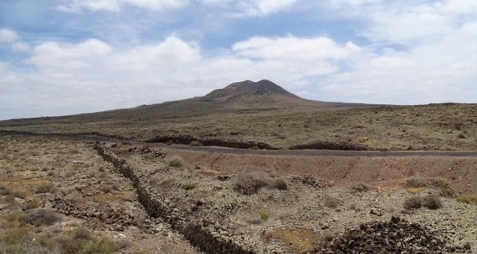 Volcan Arena Monumento Natural Malpais de la Arena Isla de Fuerteventura