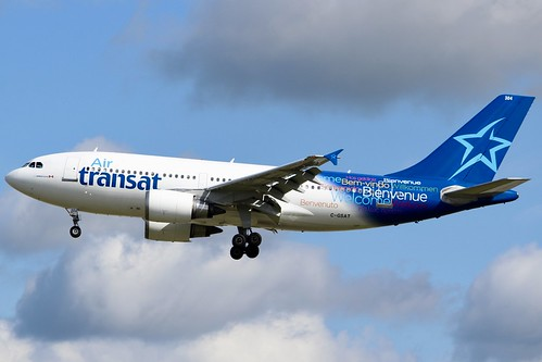 Air Transat's Baby Wide-Body...   London's two busiest airpo…   Flickr