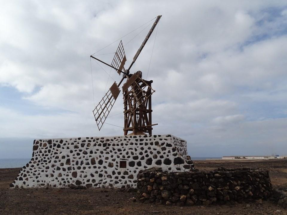Molina de Puerto Lajas isla de Fuerteventura