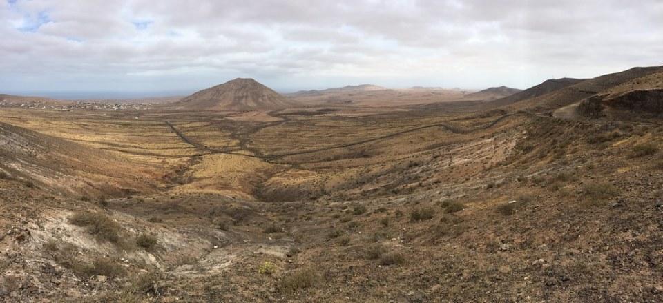 Paisaje protegido Vallebron isla de Fuerteventura 01