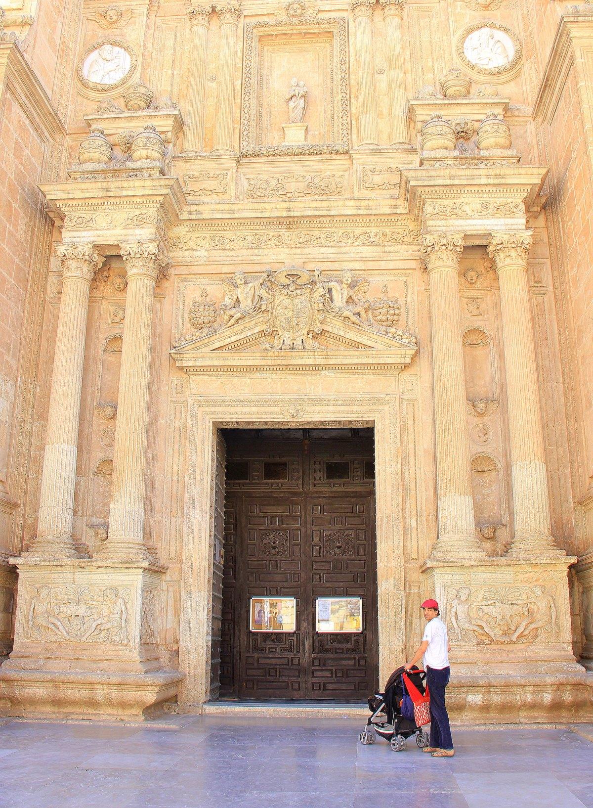 The massive Catedral de la Encarnacion in Almeria city