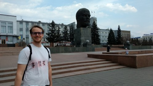 Cheesing with Lenin