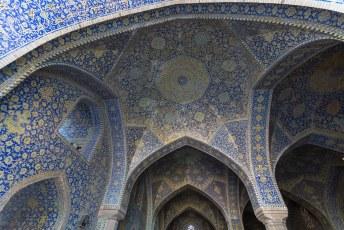 Persoonlijk vind ik al die mozaieken nogal kitsch, maar het getuigt wel van groot vakmanschap.