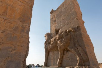 De stad is gebouwd door een nazaat van Cyrus, Darius de Eerste.