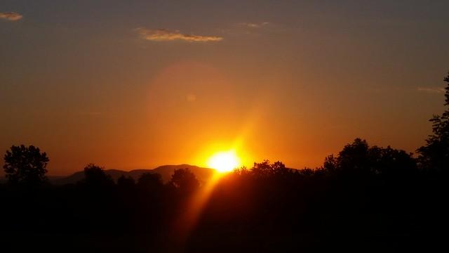 Flike Road at Sunrise