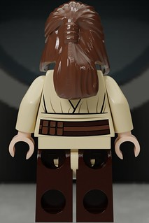 Lego Star Wars Qui Gon Jinn Icon : Qui-Gon, Custom, (Back), Flickr