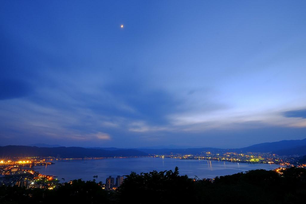 #諏訪湖 #糸守湖 #君の名は   Day1-5/30   Rice Tsai   Flickr