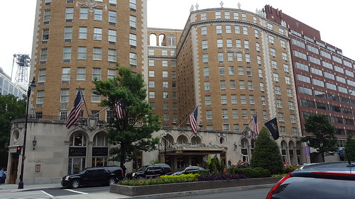 Our hotel for a few days - the Mayflower