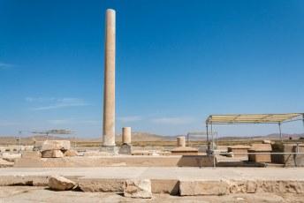 Pasargadae was de eerst hoofstad van de Achaemeniden, gebouwd door Cyrus de tweede.