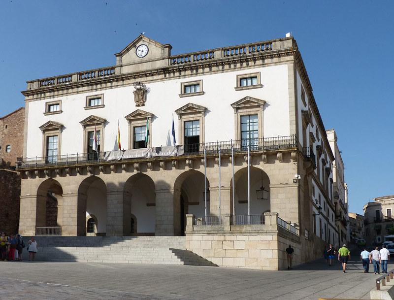 Cáceres, Városháza