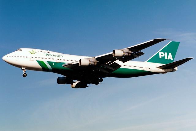 Pakistan International Airlines | Boeing 747-200 | AP-AYV | London Heathrow