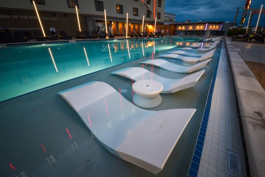 Allison Pools - Commercial Swimming Pool