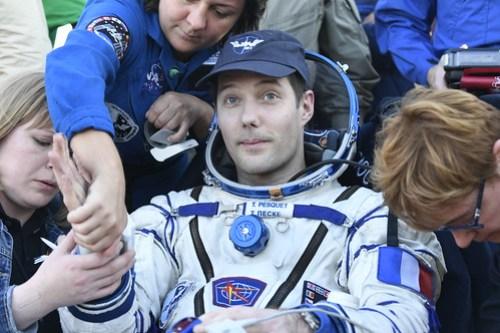 Landing Thomas Pesquet