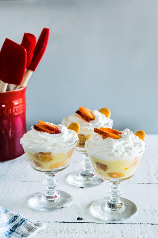 southern peach pudding