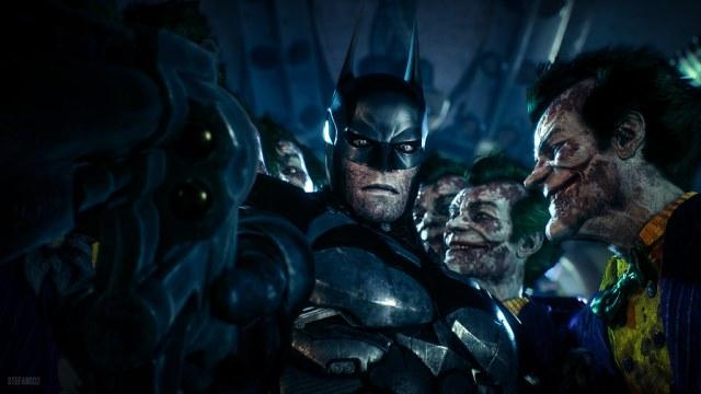 Batman: Arkham Knight / No Leaf Joker   Screenshot of the be…   Flickr