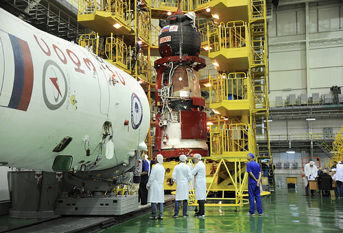 Soyuz 736/MS-05 spacecraft fuelled and ready for Exp 52/53 launch