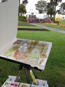 Sketching in San Francisco with FrenchEscapade.com