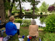 Watercolor Painting Workshop in the Loire Valley