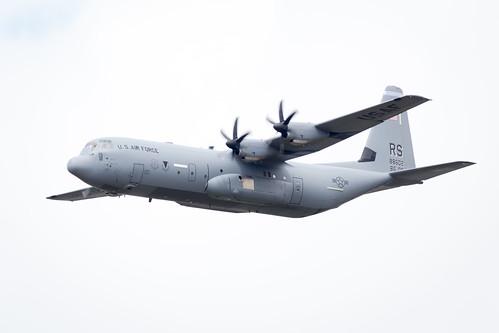 Lockheed C-130J Hercules Transport at Fairford International Air Tattoo 2017