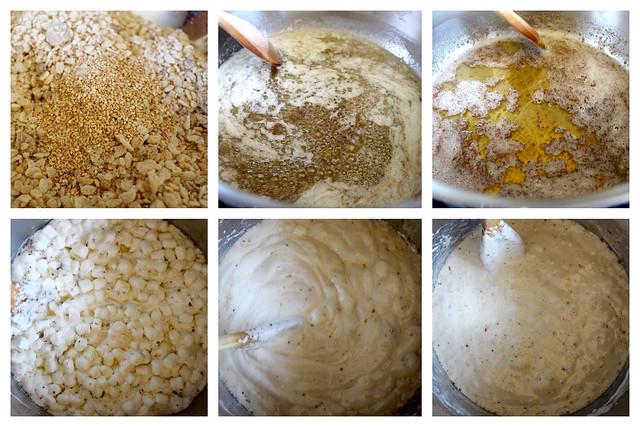 Salted Chocolate Sesame Rice Crispy Treats - 27