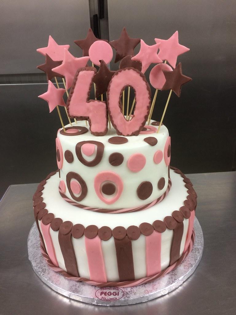 Torte Compleanno Pasta Di Zucchero Pasticceria Peggi Flickr