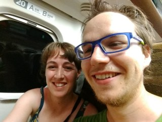 We made it on our first Shinkansen with just 2 minutes to spare