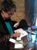 Susan Blackwood painting workshop Spain