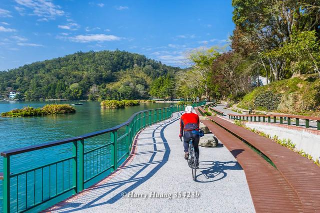 Harry_35423b,日月潭,騎自行車,騎腳踏車,休閒,運動,湖泊,湖濱步道,環潭步道,腳踏車道,自行車道,水庫… | Flickr