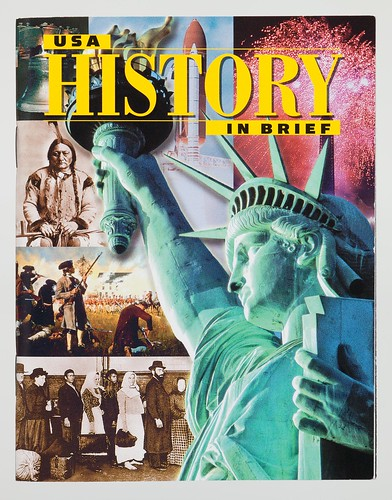 """USA History in Brief"" booklet"