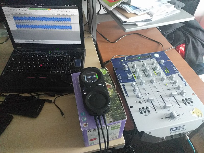 Mixing with the pacemaker device