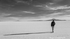 Shadows on Salar de Uyuni