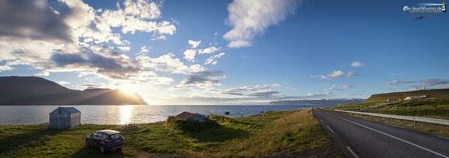 On the southbank of  Ísafjörðardjúp