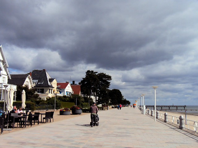 We rode along the coast a fair bit heading north from Lübeck. by bryandkeith on flickr