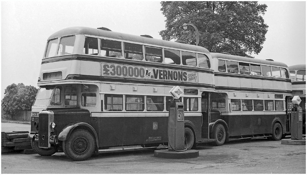 Pumping Power. | Another batch of ex-Birmingham Daimlers has… | Flickr