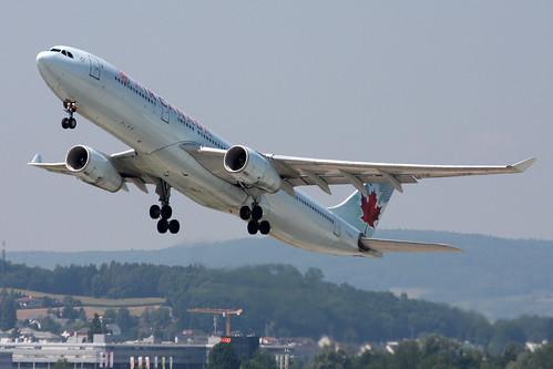 Air Canada Airbus A330-343 C-GHKR | Zürich (- Kloten) (ZRH /… | Flickr