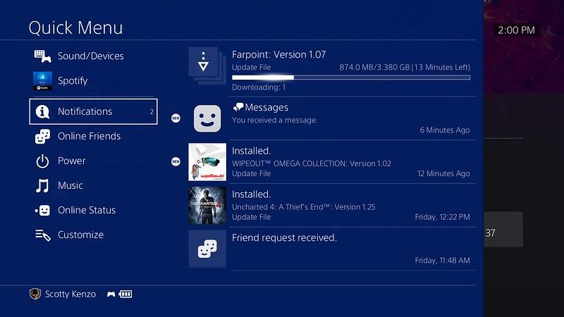 ps4, PS4: Le novità introdotte dal firmware 5.00