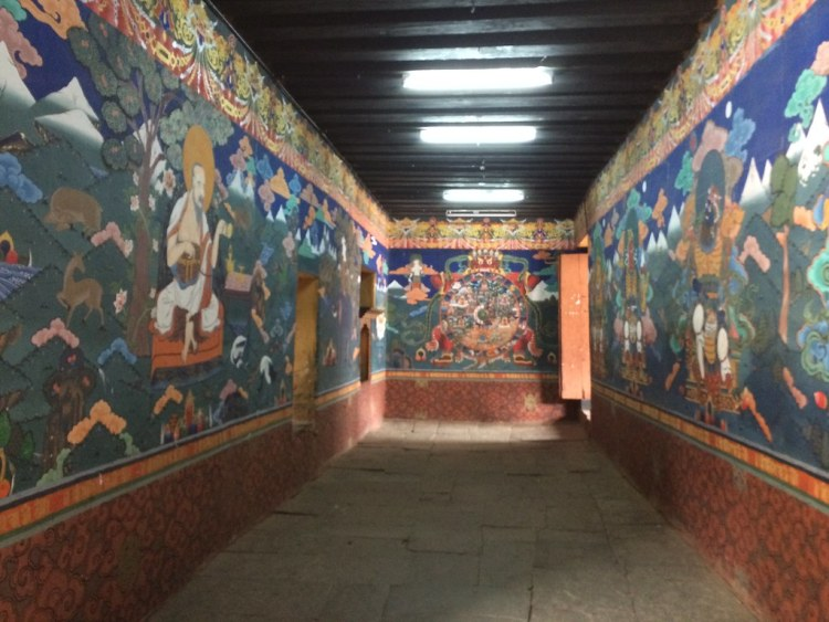 Dzong Interior