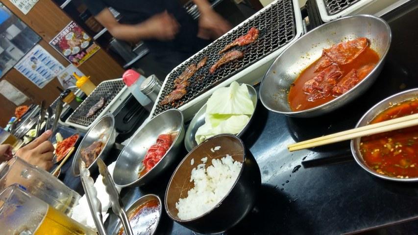 Korean BBQ in Japan