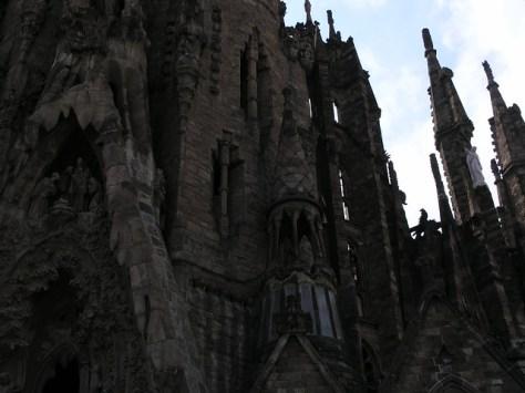 Barcelona Sagrada Familia outside facade
